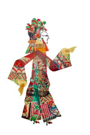 folk heritage: shadow craft works traditional oriental culture