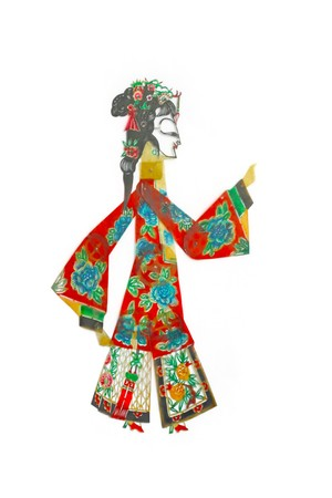 shadow craft works traditional oriental culture photo