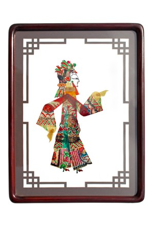 shadow craft works traditional oriental culture Stock Photo - 7549803
