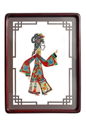 shadow craft works traditional oriental culture Stock Photo - 7549800