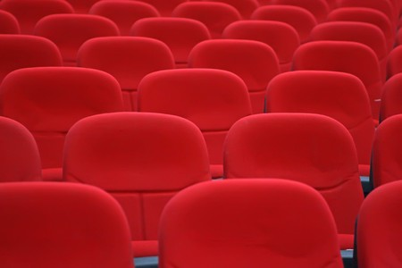 venue: red chairs