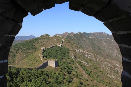 the original ecology of the great wall pass in north china Stock Photo - 8147250