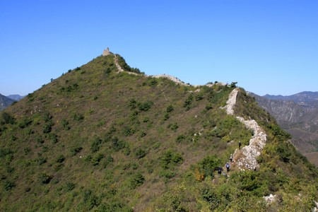 the original ecology of the great wall pass in north china Stock Photo - 8147295