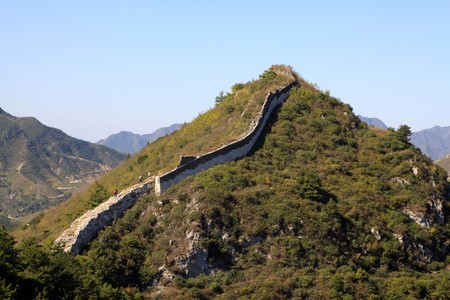 the original ecology of the great wall pass in north china Stock Photo - 8147299