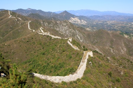 the original ecology of the great wall pass in north china Stock Photo - 8147389