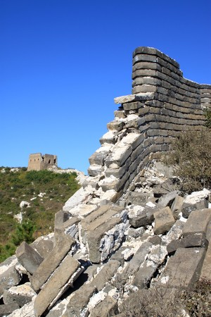the original ecology of the great wall pass in north china Stock Photo - 8147308