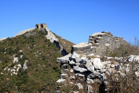 the original ecology of the great wall pass in north china Stock Photo - 8147306