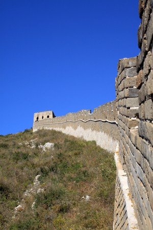 the original ecology of the great wall pass in north china Stock Photo - 8147307