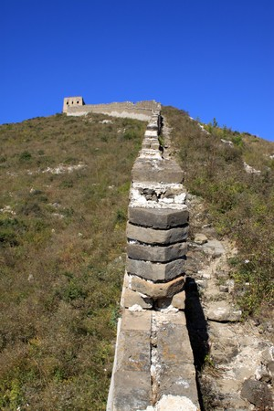 the original ecology of the great wall pass in north china Stock Photo - 8147390