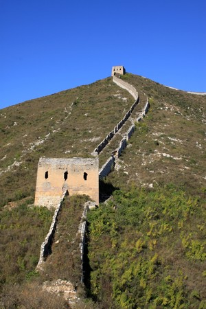 the original ecology of the great wall pass in north china Stock Photo - 8147368