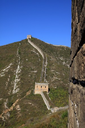 the original ecology of the great wall pass in north china Stock Photo - 8147252