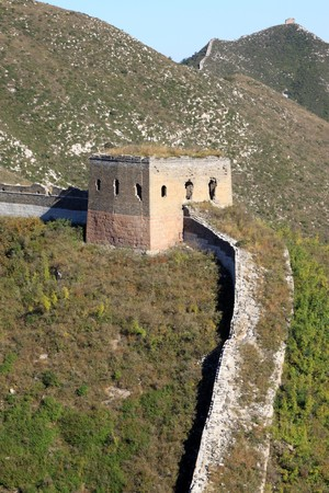 the original ecology of the great wall pass in north china Stock Photo - 8147428