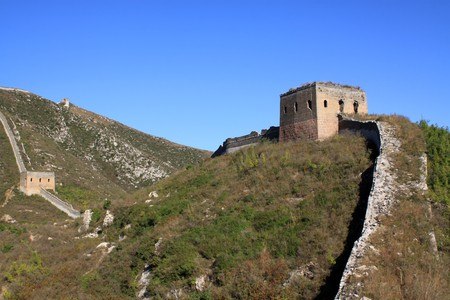 the original ecology of the great wall pass in north china Stock Photo - 8147300