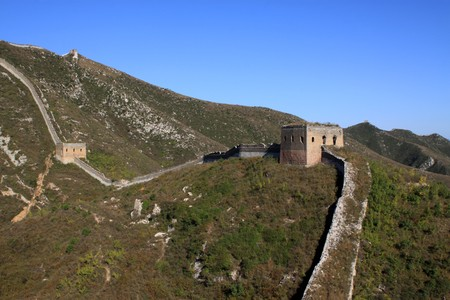 the original ecology of the great wall pass in north china Stock Photo - 8147294