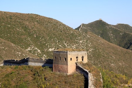 the original ecology of the great wall pass in north china Stock Photo - 8147408