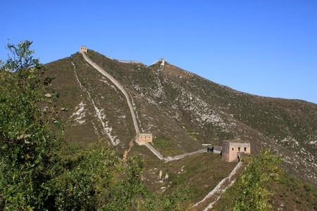 the original ecology of the great wall pass in north china Stock Photo - 8147305
