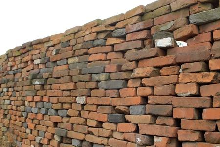 tatty: tatty wall in rural China  Stock Photo