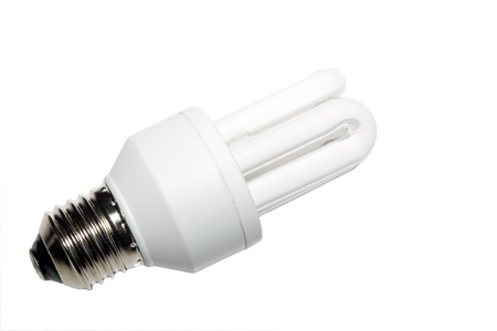 fluorescent tubes: fluorescent tubes on a white background.