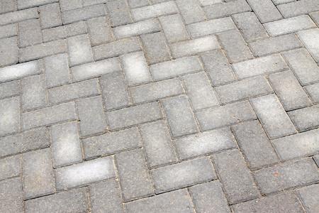 pavimento gres: gray cement floor tile  Archivio Fotografico
