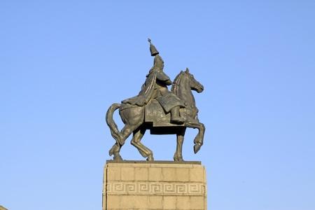 closeup of figure statue, China. Stock Photo - 9912361