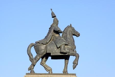 closeup of figure statue, China. Stock Photo - 9912356