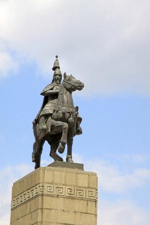 closeup of figure statue, China. Stock Photo - 9912366