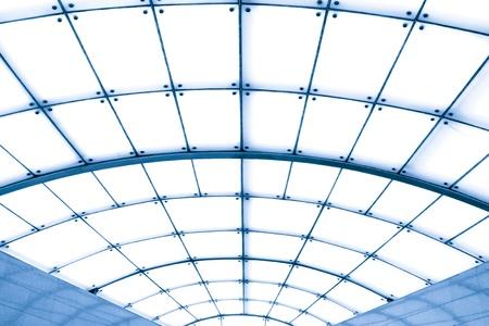 cape mode: transparente Decke in der Halle