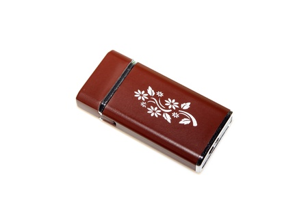 metal lighter on a white background Stock Photo - 10441024