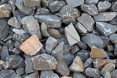 closeup of piles of gray stone Фото со стока - 10506849