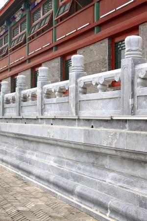 periferia: archaize periferia ferroviario edificio pietra blu nel nord della Cina