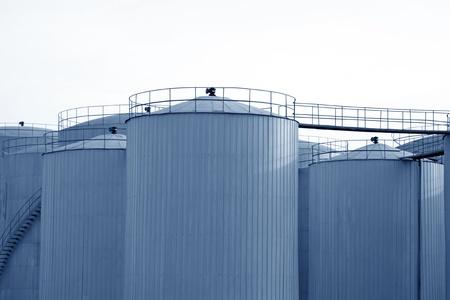 closeup of oil storage tank Stock Photo - 10766632