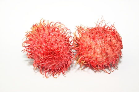 a kind of red fruit named as rambutan Stock Photo - 11424715