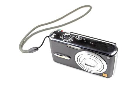 digital camera on a white background. Stock Photo - 11424651