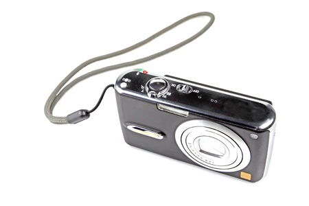 digital camera on a white background. Stock Photo - 11424651