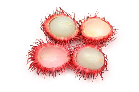 a kind of red fruit named as rambutan Stock Photo - 11648839