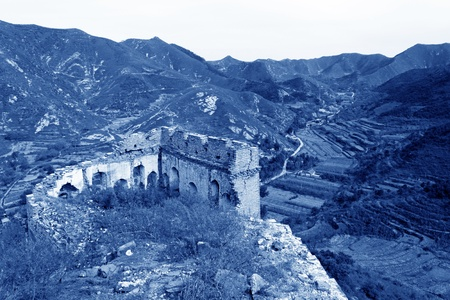 the original ecology of the great wall in north china Stock Photo - 11648596
