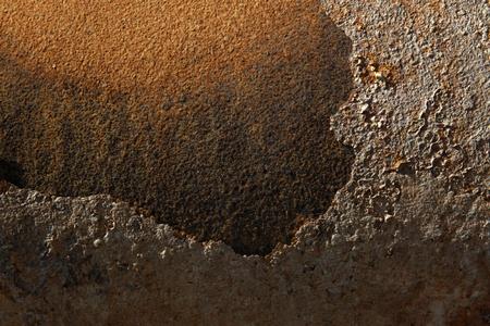 closeup of rusty metal surface Stock Photo