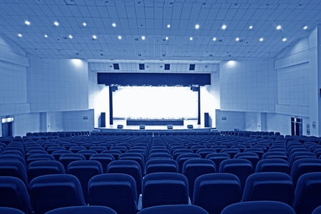 chairs and stage in a theatre in china Stock Photo - 11654008
