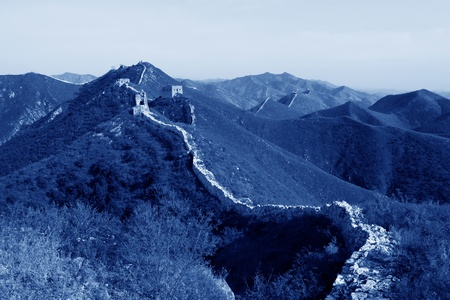 deformity: the original ecology of the great wall in north china Stock Photo