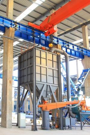 steel enterprise production workshop in china