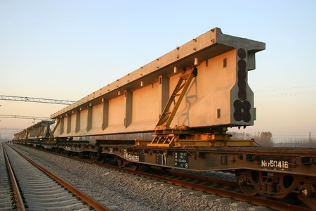railway transportation: railway transportation artery in north China