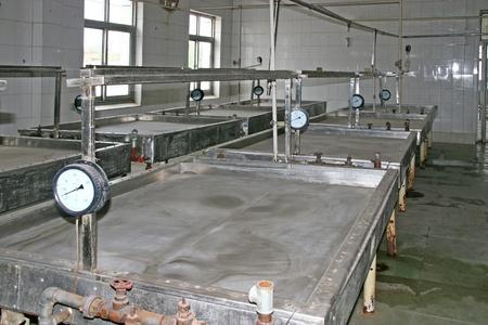 industrial enterprise internal landscape, north china Stock Photo - 12279829