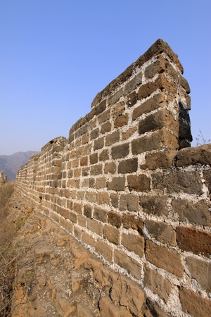 the original ecology of the great wall pass in north china Stock Photo - 13075605
