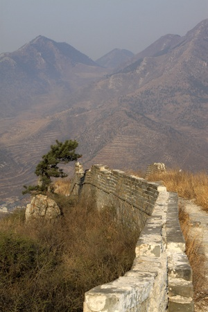 the original ecology of the great wall pass in north china Stock Photo - 13052563