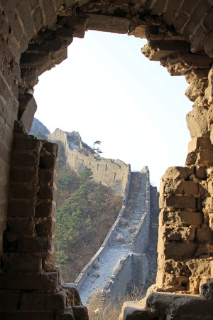 the original ecology of the great wall pass in north china Stock Photo - 13558418