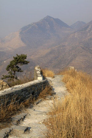 the original ecology of the great wall pass in north china Stock Photo - 13445587