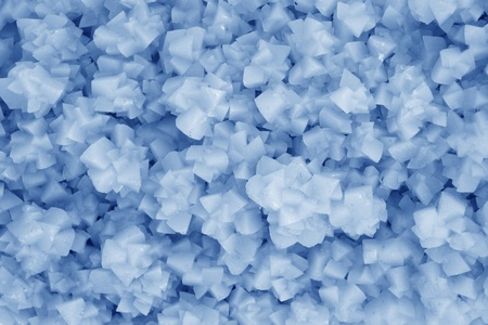 popular science: closeup of crystallization minerals in a popular science exhibition, in china Stock Photo