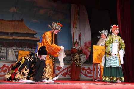 theatrical performances in tangshan in china   Stock Photo - 13580770