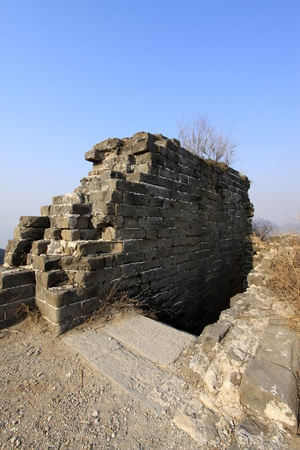 the original ecology of the great wall pass in north china photo