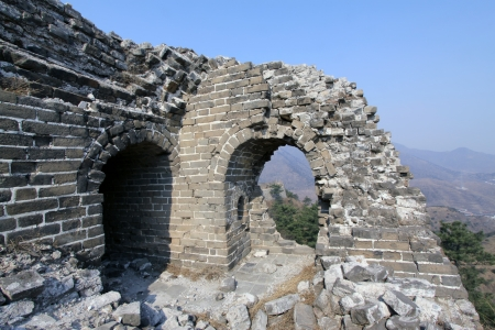 the original ecology of the great wall pass in north china Stock Photo - 13622718